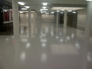clean shiny floor