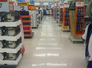 clean floor in store 2